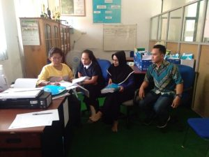 Kegiatan Audit Internal Program Studi Pendiodikamn Geografi FKIP UNTAD