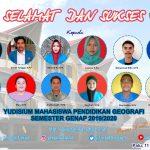 Yudisium Bersama Program Studi Pendidikan Geografi