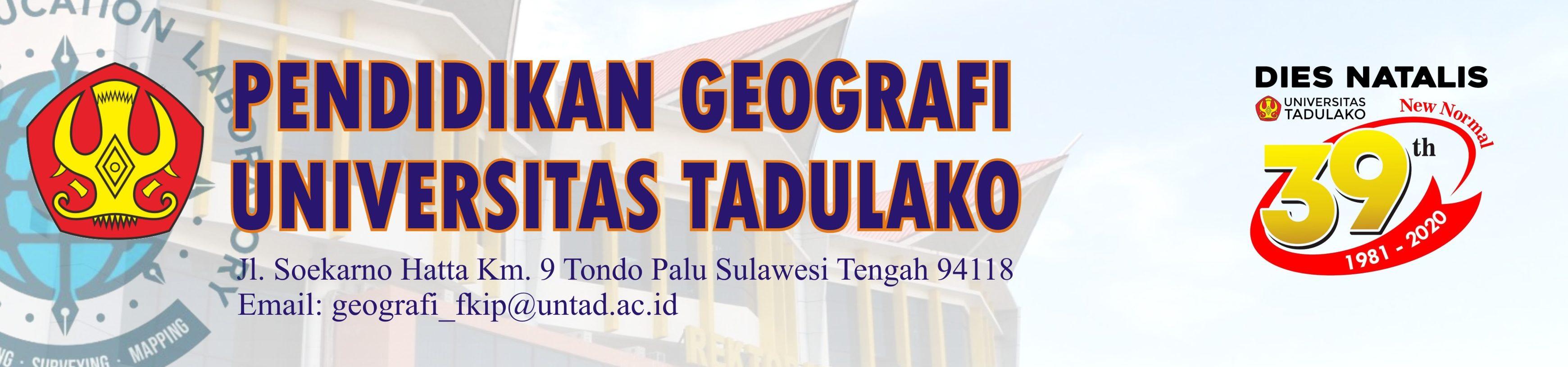Geografi Fkip Untad