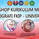 Materi Webinar Workshop Kurikulum Kampus Merdeka Pendidikan Geografi Universitas Tadulako